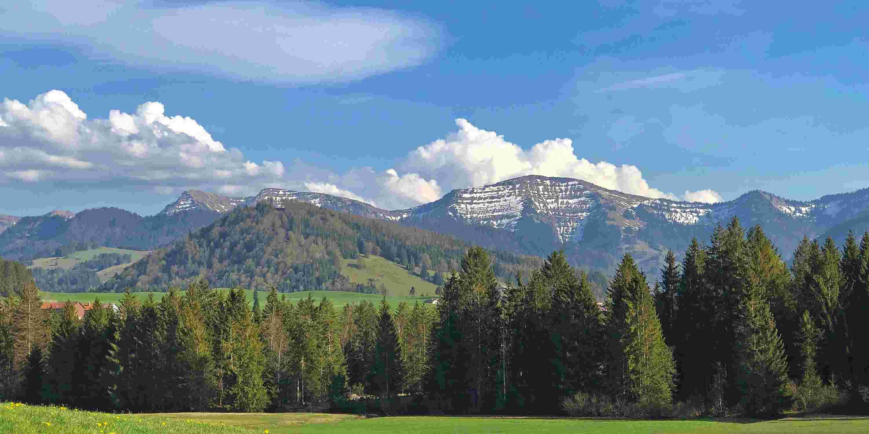 Frühling in Oberstaufen