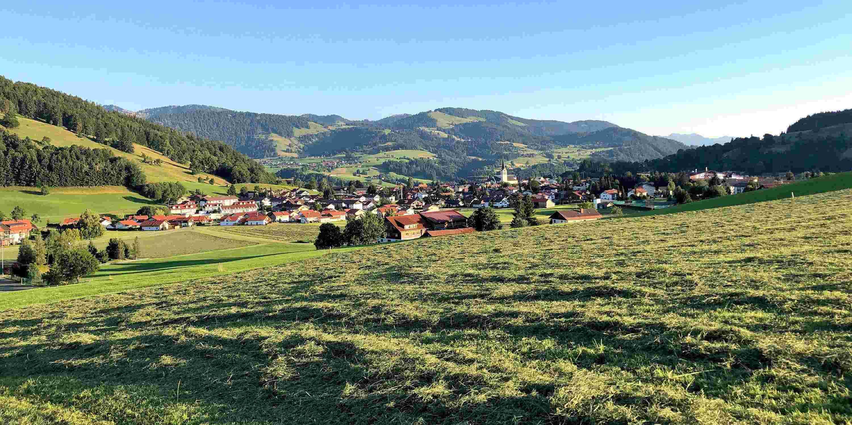 Sommerabend in Oberstaufen