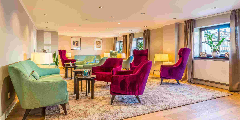 Lounge im Bayerischen Hof Oberstaufen