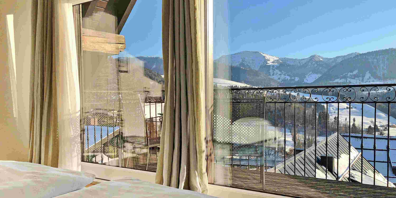 Blick von Hochgrat-Suite Bayerischer Hof Oberstaufen