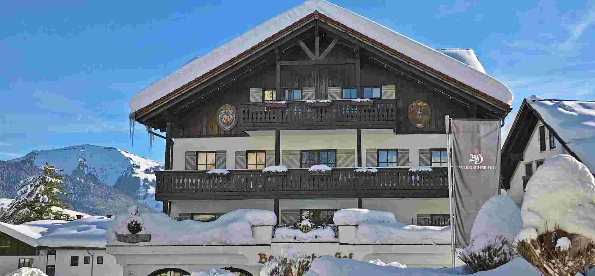 Bayerischer Hof in Oberstaufen im Winter
