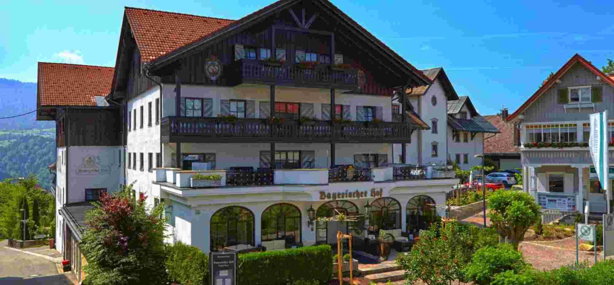 Hotel Bayerischer Hof Oberstaufen-im Sommer
