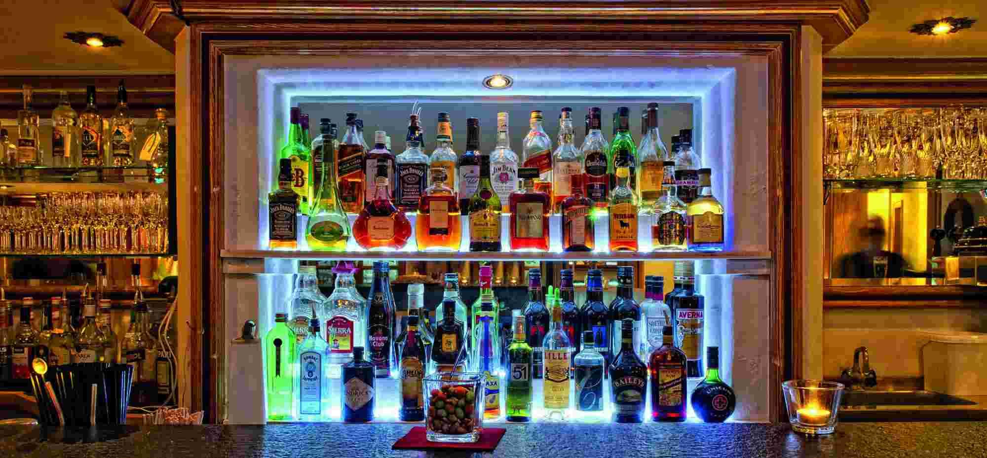 Bar im Hotel Bayerischen Hof Oberstaufen