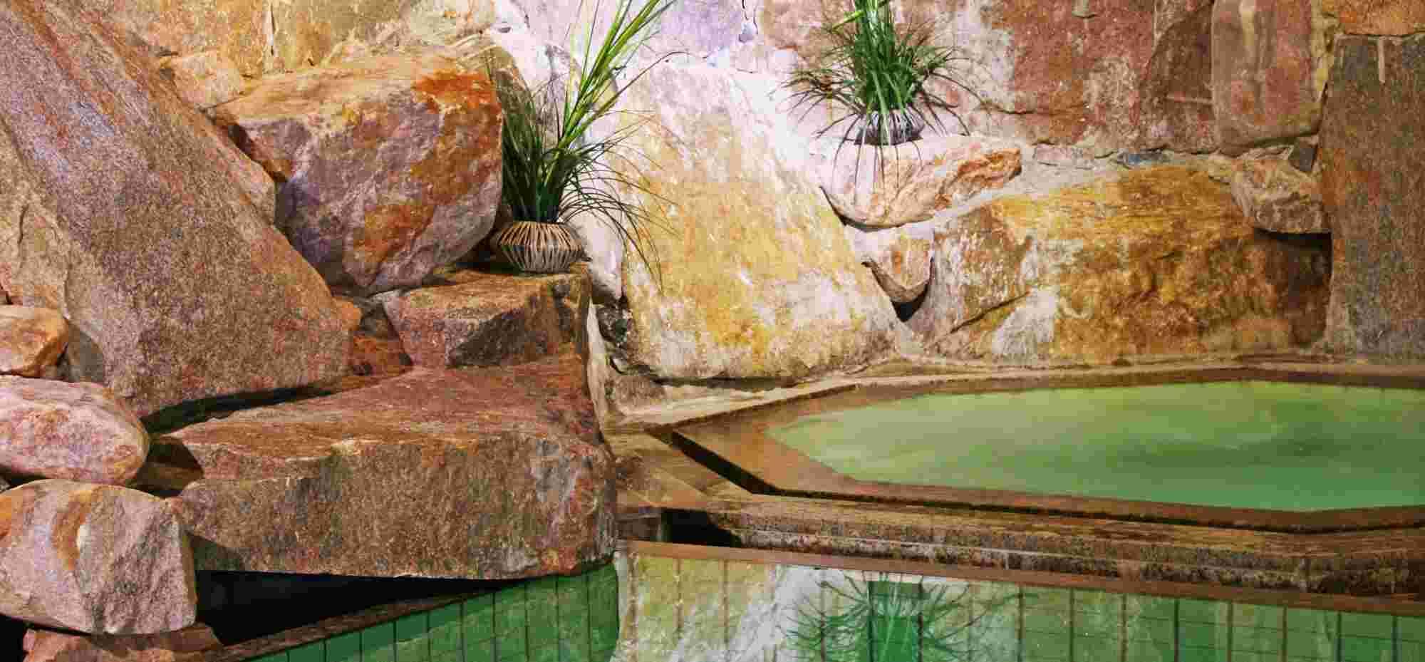 Whirlpool im Hotel Bayerischer Hof in Oberstaufen