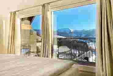 Hochgratsuite im Bayerischen Hof in Oberstaufen im Winter