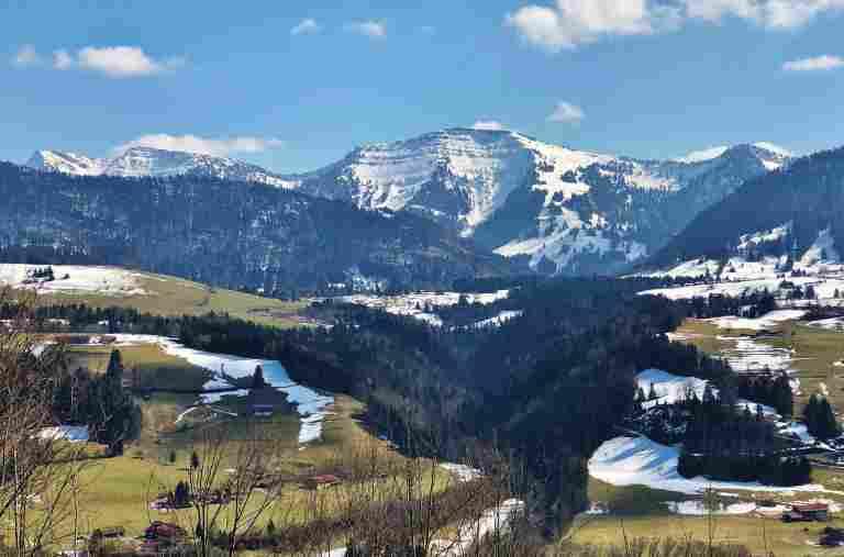 Hochgrath im Frühling, Bayerisicher Hof, Oberstaufen