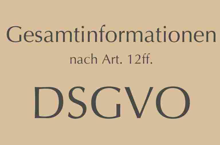 Datenschutz im Bayerischen Hof