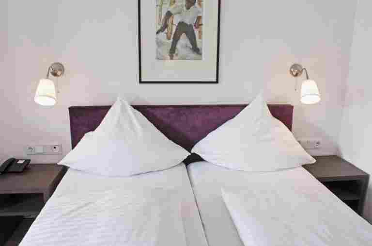 Doppelzimmer im Hotel Bayerischer Hof Oberstaufen