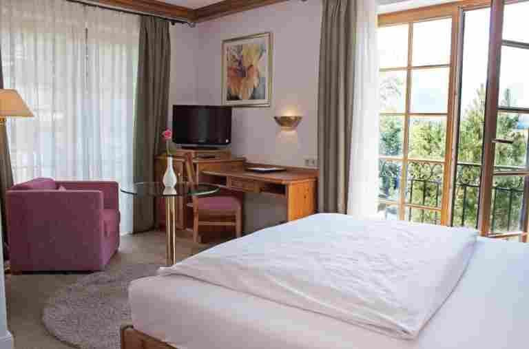 Einzelzimmer Bayerischer Hof Oberstaufen