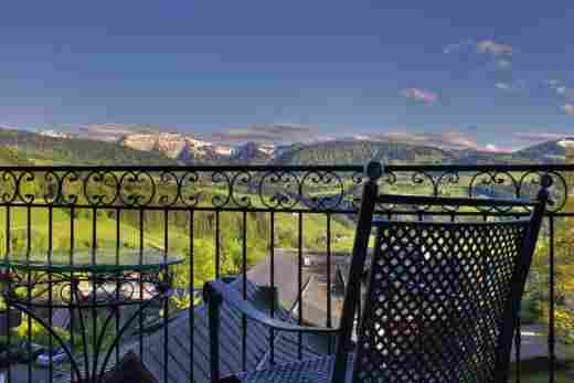 Aussicht der Hochgratsuite im Hotel Bayerischer Hof Oberstaufen