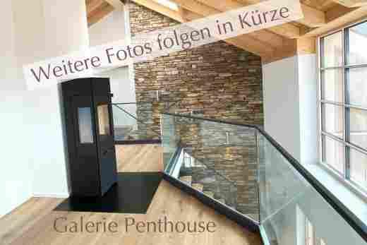 Galerie im Penthouse No 9, Ferienwohnung im Bayerischen Hof in Oberstaufen, Löwen Suites