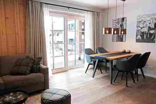 Löwen Suites im Bayersichen Hof Oberstaufen, Haus C, Wohnung 02, Essecke