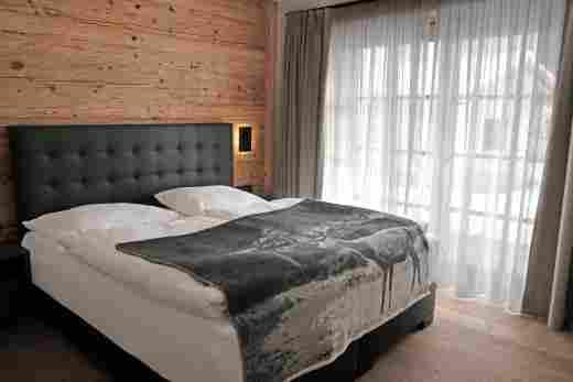 Löwen Suites im Bayersichen Hof Oberstaufen, Haus C, Wohnung 02, Schlafzimmer