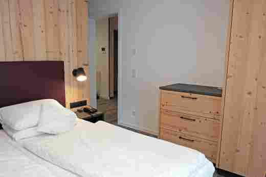 Wohnung C06, Löwen Suites im Bayerischen Hof in Oberstaufen, Schlafzimmer