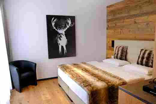 Doppelzimmer Murmeltier, Löwen Suites